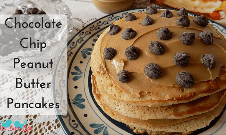 Chocolate Chip Peanut Butter Pancakes