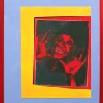 Soy Antilliana | 46cm x 61cm | Screenprint, aerosol, collage | 2009