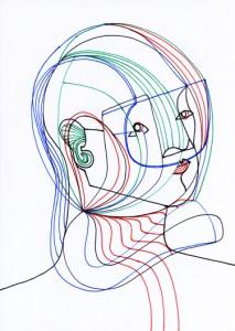 SYNESTHESIA 1 | Pen and Ink | Inward Gaze, Outward Focus |  21cm X 29.7cm  | 2015