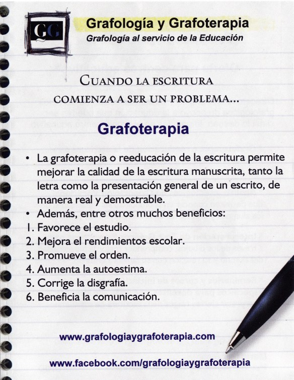 Grafoterapia