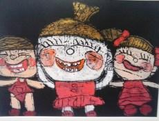 Niños chinos, autora 4 años
