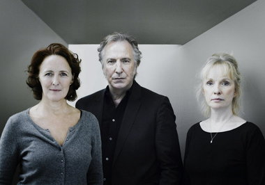 Borkman Sarting on Broadway tonight: Alan Rickman, Fiona Shaw, Lindsay Duncan and Olympia Dukakis