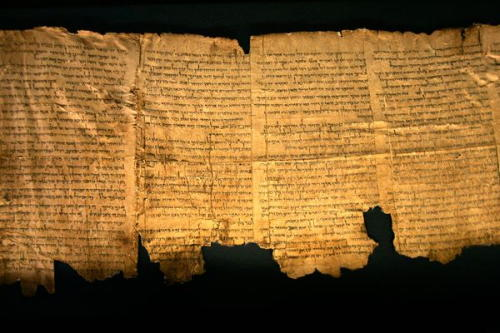 dead sea scrolls Google helps put high resolution images of the Dead Sea Scrolls online