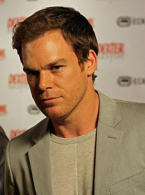 Michael C Hall 2011 Dexter author concerned that people think his creation is nice