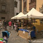 Art comes to the street in Vegueta