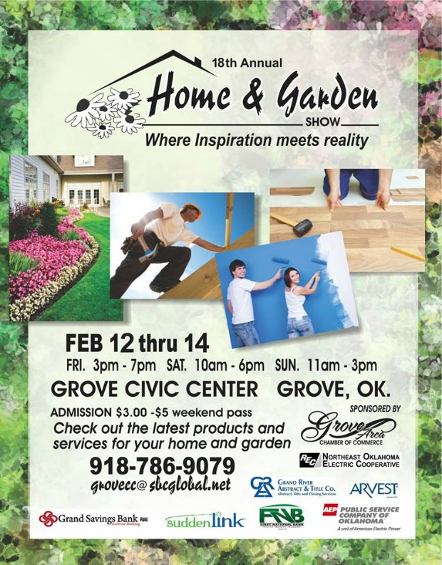 Upcoming Events Grove Home And Garden Show Grand Lake Living