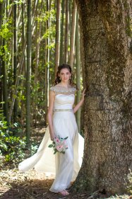 Beautiful Bride at The Grand Magnolia House