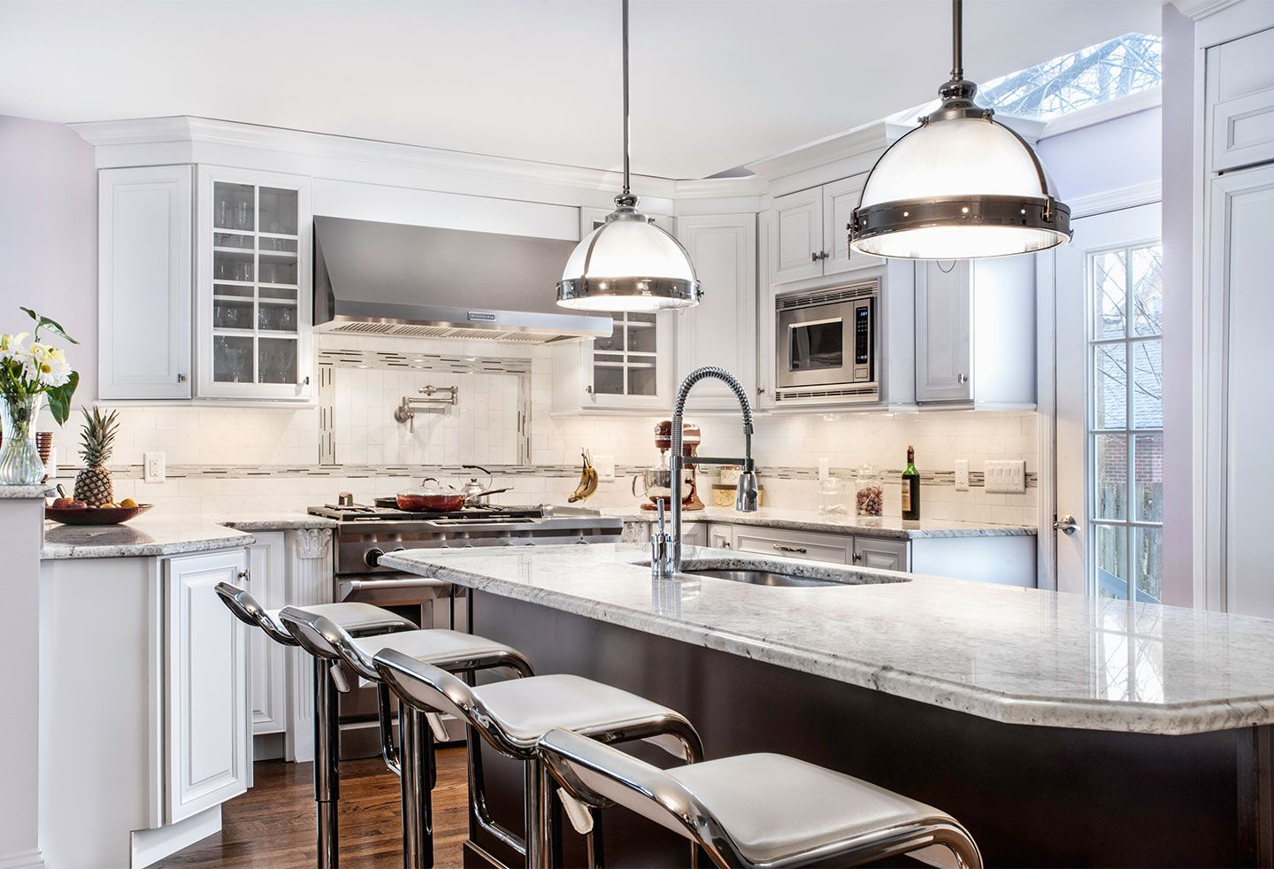 Pleasing Kitchen Granite Counters Slide Image Largest Selection Ago How To Install Granite Counters On Concrete How To Install Granite Counters On New Cabinets houzz 01 How To Install Granite Countertops