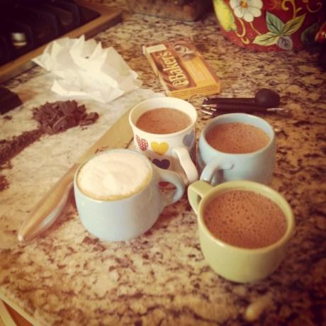 Hot Cocoa for 1! Granola Girl Bakes
