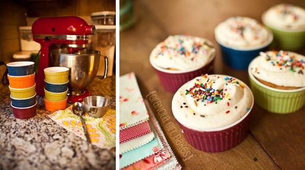 Vanilla Cupcakes 7 © GranolaGirlBakes.com