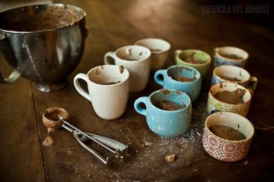 Salted Caramel Mocha Cupcakes :: Granola Girl Bakes 1