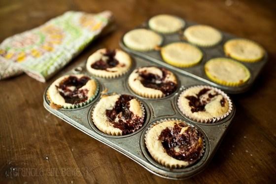 Raspberry Swirl cupcakes 4