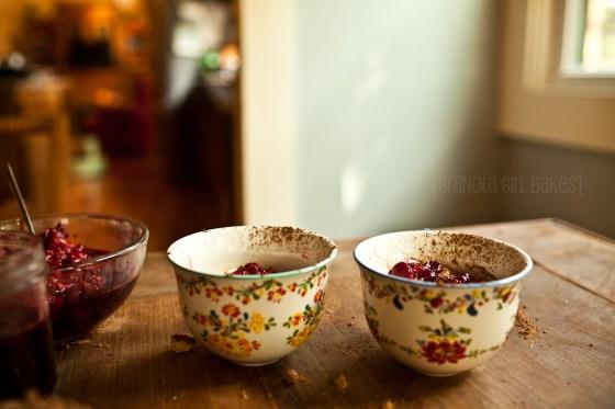 Raspberry Trifles {Granola Girl Bakes} 10
