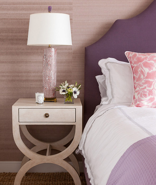 Grant k gibson bedroom grant k gibson for Plum and cream bedroom designs