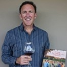 Brian Talley with his new book, Our California Table