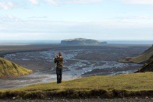 View from Mýrdalsjökull by Art Bicnick