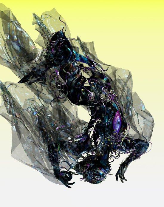 Björk Digital Family by andrew thomas huang