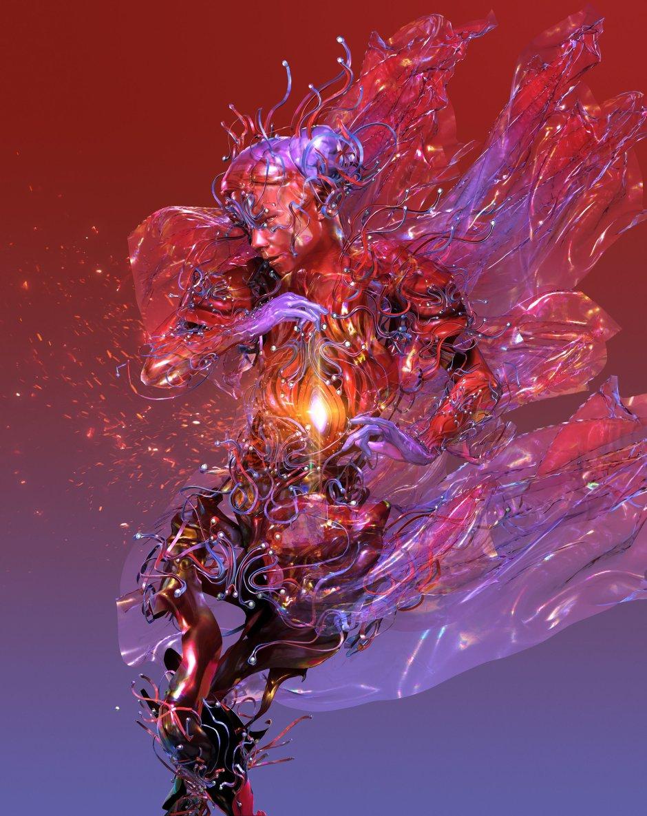 Björk digital family_ by andrew thomas huang