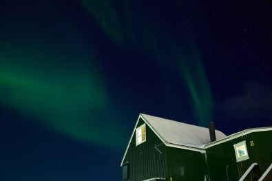 Northern Lights In Nuuk