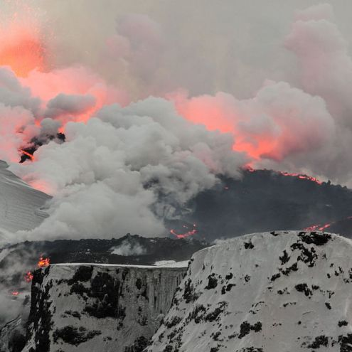 Area North Of Bárðarbunga Volcano Evacuated
