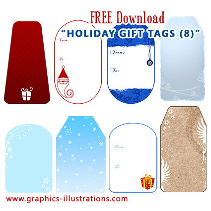 Holiday Gift Tags Free Download