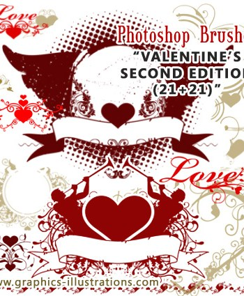 Valentines Photoshop Brushes – The Moment of Truth