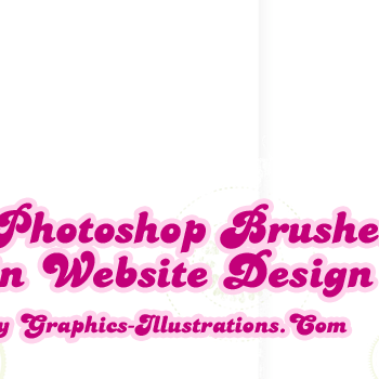 Using Photoshop Brushes in Web And Graphic Design