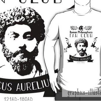 Making Of Marcus Aurelius Fan Club Logo & A TShirt