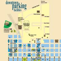 Maps of the State Capitol and Downtown Lincoln Parking Garages