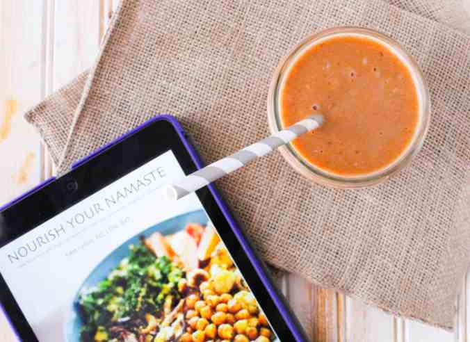 Review: Nourish Your Namaste by Kara Lydon RD on The Grateful Grazer.