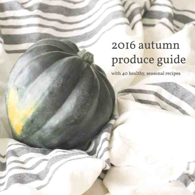 The best healthy recipes for fall using seasonal autumn produce including squash, pumpkin, apples, and pears. Find out what's in season right now!