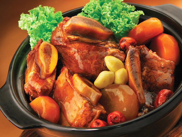 stewed top grade beef short rib