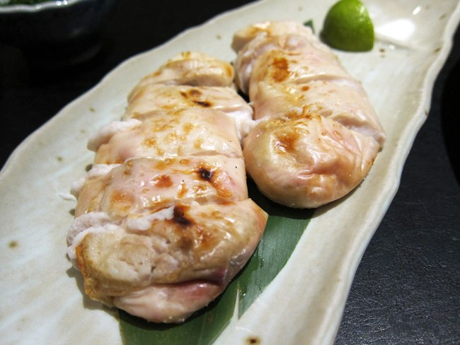 You can order the Fugu milt from the a la carte menu