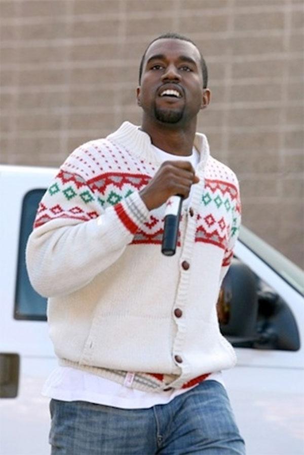 Yeezus, the Christmas maker.
