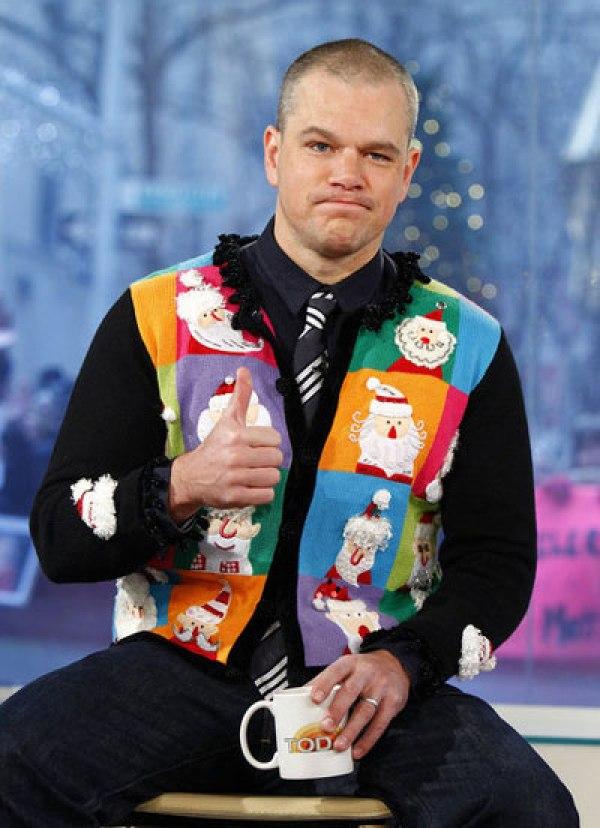 matt-damon-ugly-christmas-sweater