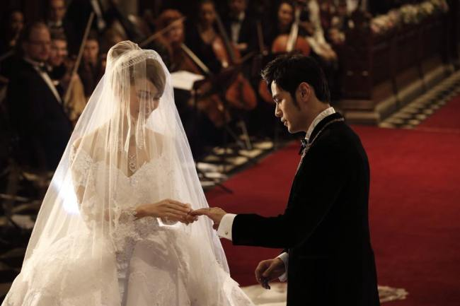 Jay Chou and Hannah Quinlivan wedding