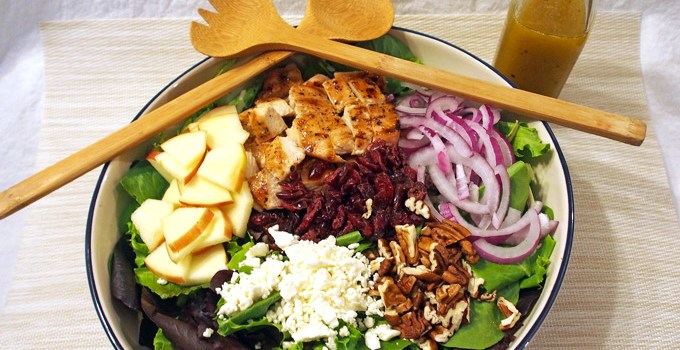 Maple Balsamic Vinaigrette and Grilled Chicken Salad