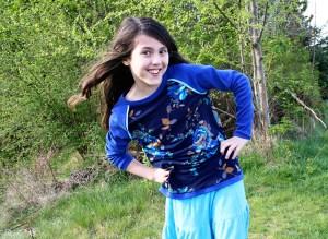 Floral Sweatshirt like mine!
