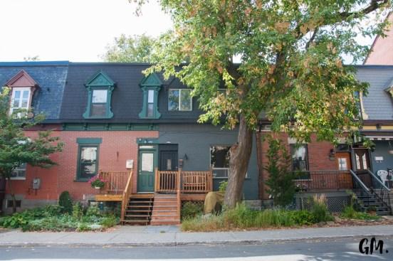 Maisons mitoyennes dans Montréal