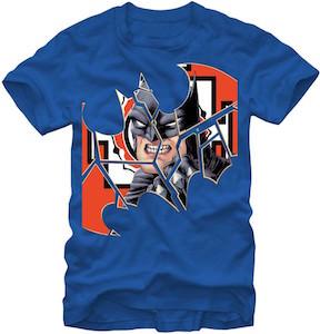 Batman In Logo T-Shirt