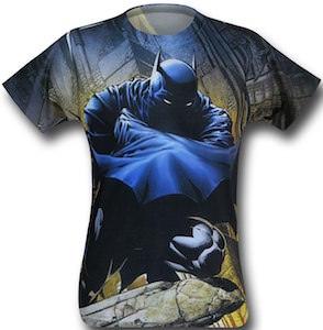 Batman Hiding In His Cape T-Shirt