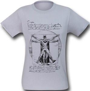 Vitruvian Batman T-Shirt