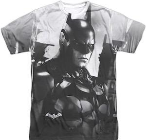 Batman Arkham Knight Black And White T-Shirt