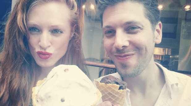 Duckface alert! An ice cream a day, keeps the doctor away ;)