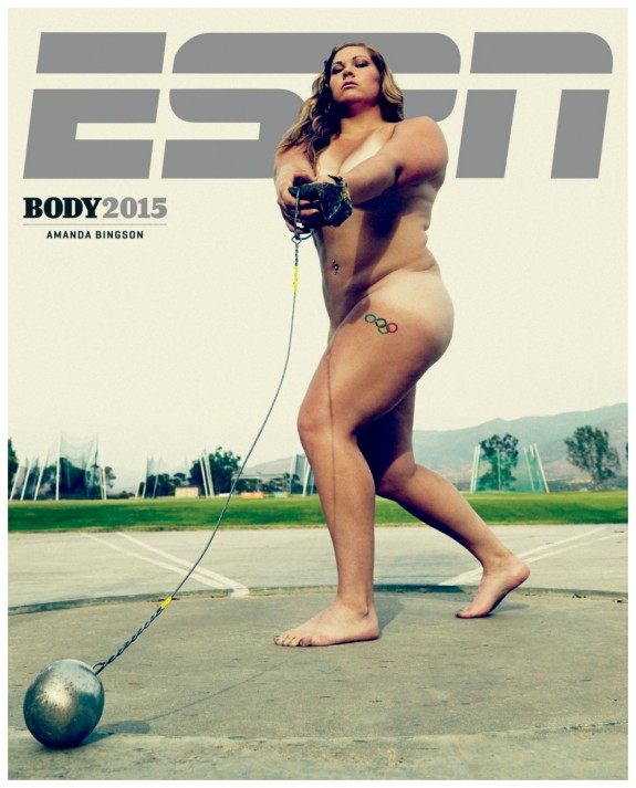 Amanda Bingson: 'Athletes come in all shapes and sizes'