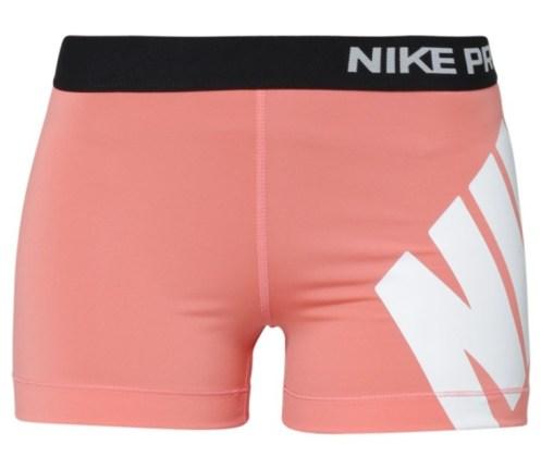 Nike performence shorts pink