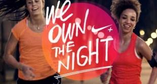 Nike We Own The Night Run women only Amsterdam