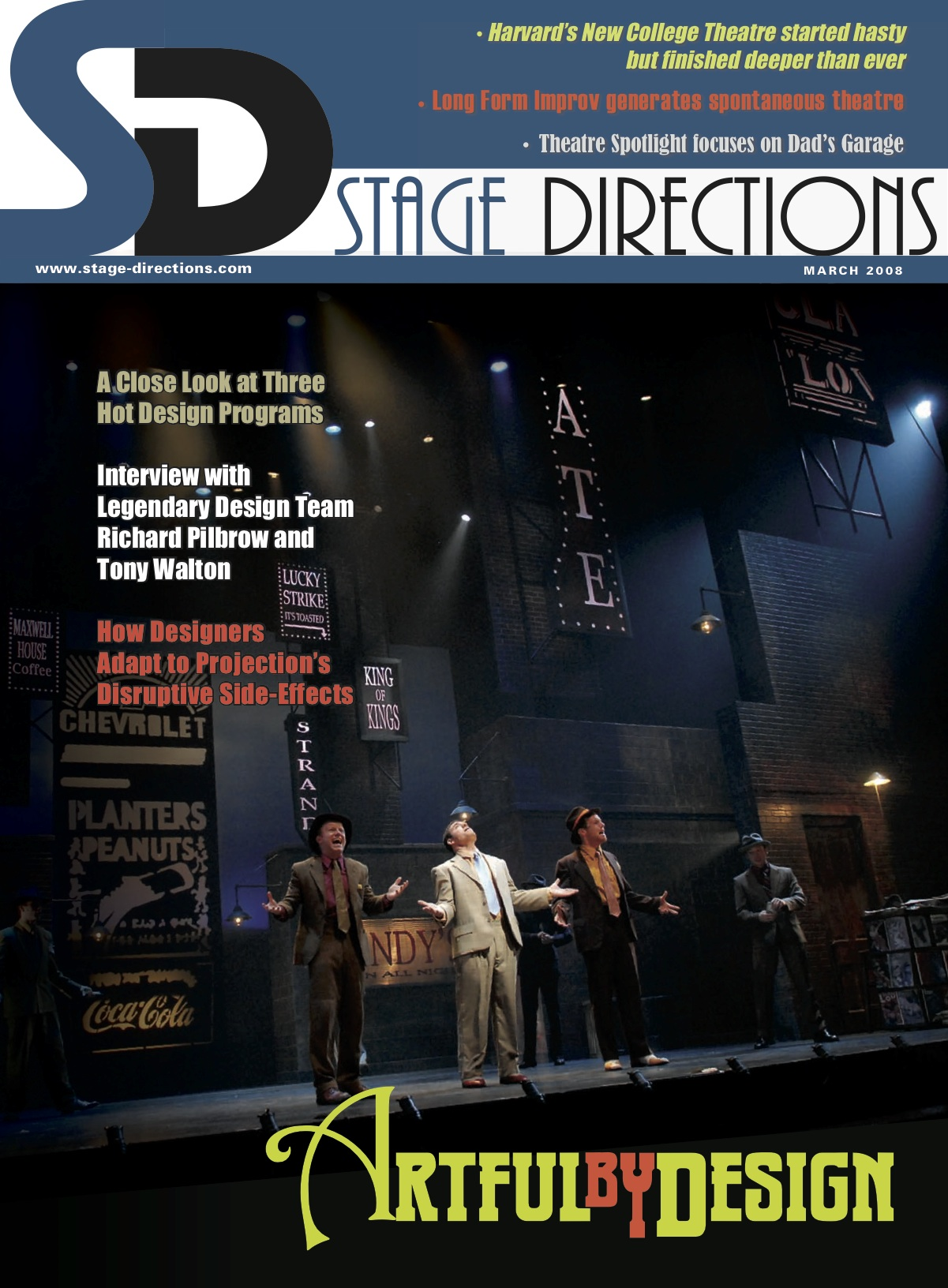 ANATOMY OF SOUND – STAGE DIRECTIONS – Greater Than Designs, Inc.