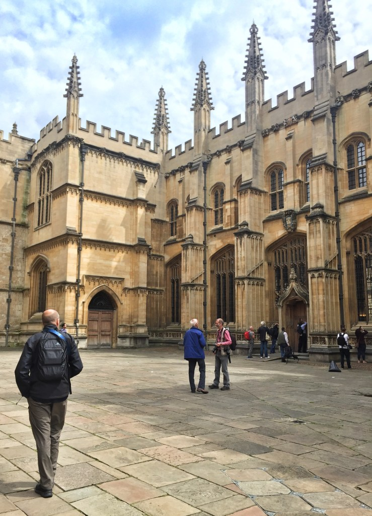 Courtyard leading to Divinity College