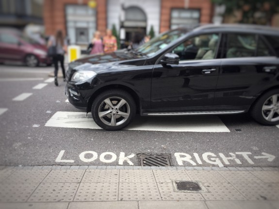 Look Right, or is Left?!